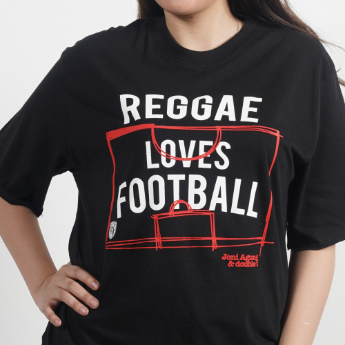 Reggae Loves Football Tee