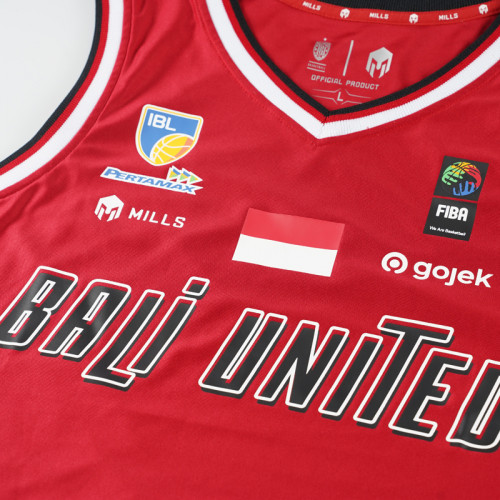 Bali United Basketball Home Jersey 2021