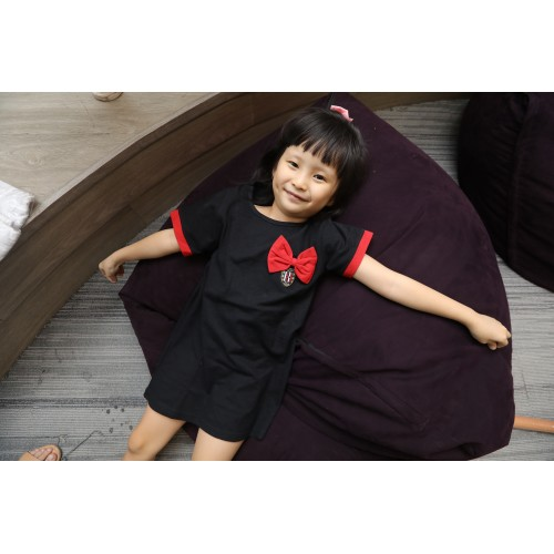 Hello Bali Kids Dress Black