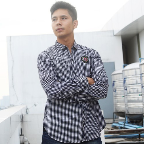 Checkered Long Sleeve Shirt